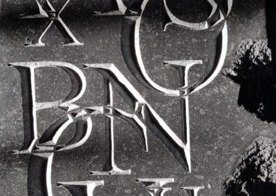 11 - Close-up alfabet